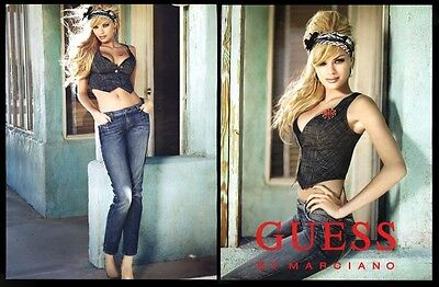 2003 Franziska Frank photo Guess Jeans vintage print ad