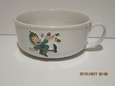 """Lucky Charms Collectible Cereal Bowl (6 inch) 3 DIMENSIONAL""""LUCKY"""" NEW F/SHIP!!!"""