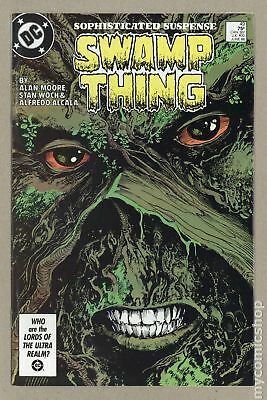 Swamp Thing (1982 2nd Series) #49 FN/VF 7.0