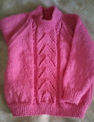 Toddler Jumper - Size 1 - Pure Wool