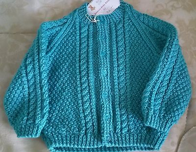 Toddler Cardigan - Size 1 - Pure Wool