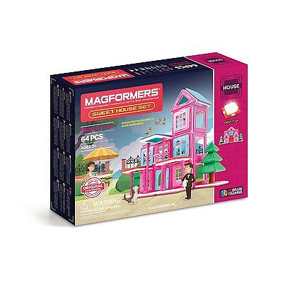 Magformers Sweet House Set 64 Pieces - GENUINE AUS STOCK