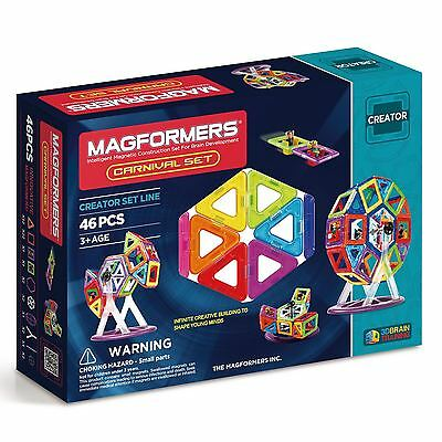 Magformers Carnival Set 46 Pieces - GENUINE AUS STOCK