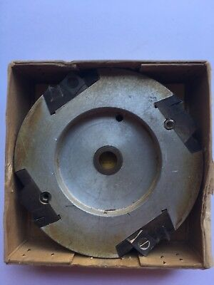 LINBIDE TRENCHING HEAD CUTTER for Radial Arm Saw Tungsten Blades 30 -50mm - USED