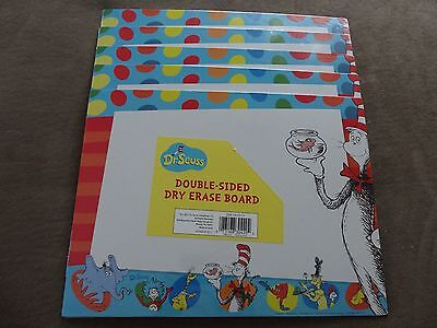 5 Dr. Seuss Characters Including Cat In The Hat Double-Sided Dry Erase Boards