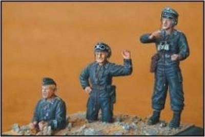 CMK F35001 WWII German Tank Crew Resin Figuren in 1:35