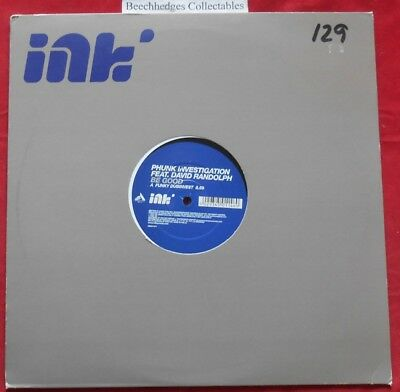 "Phunk Investigation Feat. David Randolph Be Good 12"" Single"