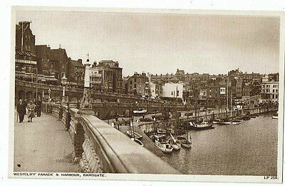 Post Cards Westcliff Parade & Harbour, Ramsgate