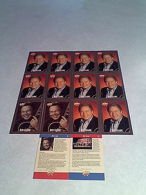 *****Roy Clark*****  Lot of 50 cards  4 DIFFERENT