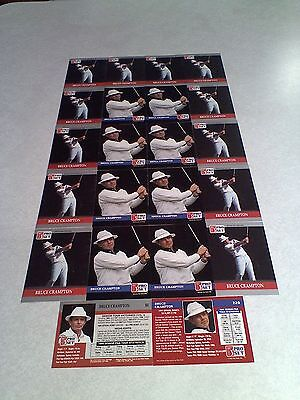 *****Bruce Crampton*****  Lot of 35 cards.....3 DIFFERENT / Golf