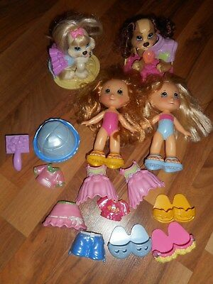 Fisher Price SNAP N STYLE DOLL  Clothes Shoes Pet Dogs Beds