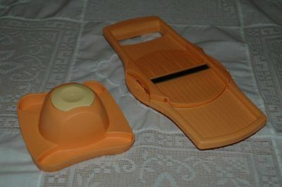 Tupperware Bake To Basics B2B Slicer System Orange And Lemon