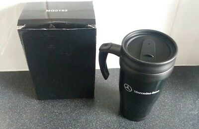 Mercedes-Benz The New Atego Double Walled Insulated Travel Mug Black