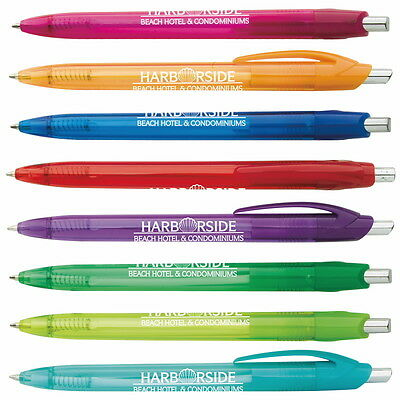 Element Slim Click Pens Personalized Imprint Promotional Customer Handout Gift