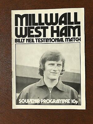 Millwall V West Ham United 1974-75