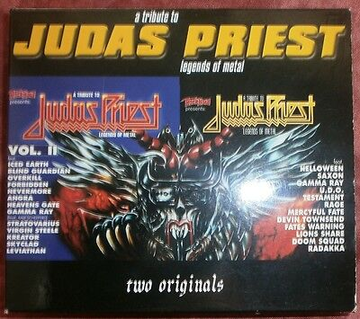 2 CD Set A tribute to JUDAS PRIEST Legends of metal 1996/2000 GAMMA KREATOR UDO
