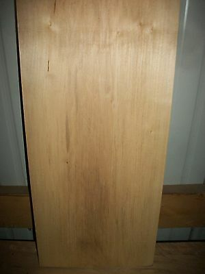 """1 Pc Basswood Lumber Wood Air Dried Board 1 9/16"""" Thick Lot 488N  Block Blank"""