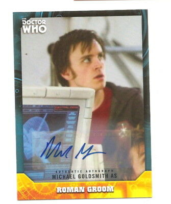 2017 Doctor Who Signature Series   Autograph Card  74 Michael Goldsmith