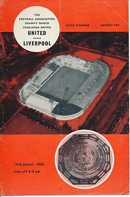 FA CHARITY SHIELD 1965 Man Utd v Liverpool