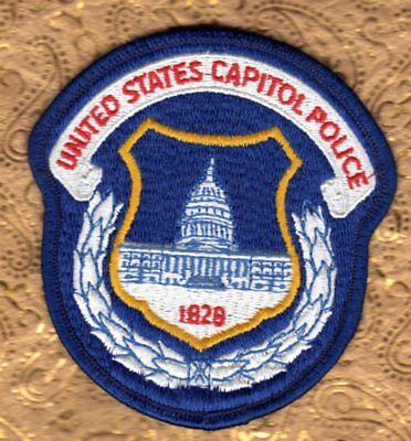 United States Capitol Police Patch  Washington DC  District of Columbia