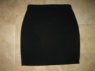 Women's Maternity skirt size S. A pea in the pod solid black Tiacitate/poly