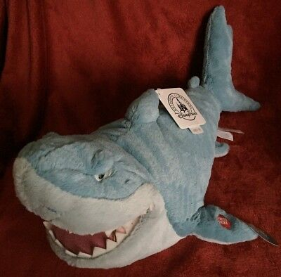"""Finding Nemo Talking Bruce Shark 17"""" Tags Soft Toy"""