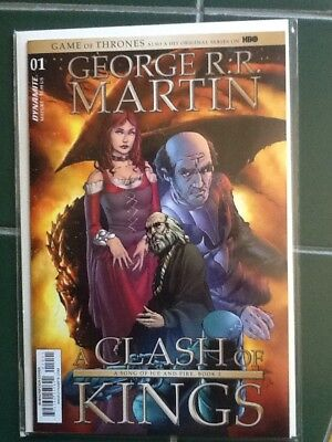 Game of Thrones A Clash of Kings #1 Subscription Cover Dynamite NM Comics Book
