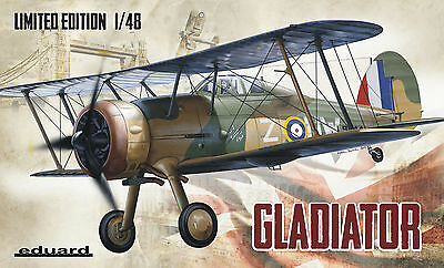EDUARD 1145 Gloster Gladiator in 1:48 LIMITED EDITION!