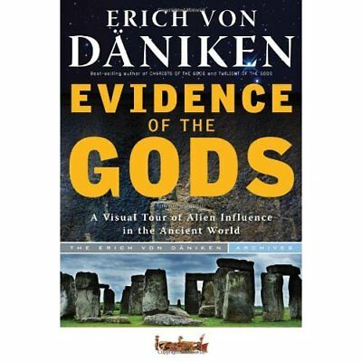 Evidence Of The Gods: A Visual Tour of Alien Influence  - Paperback NEW Daniken,