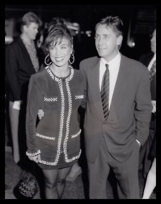 1992 PAULA ABDUL & EMILIO ESTEVEZ @ Freejack Premiere Vintage Original Photo gp