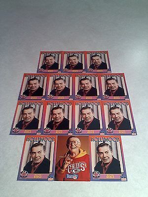 *****Milton Berle*****  Lot of 14 cards.....2 DIFFERENT