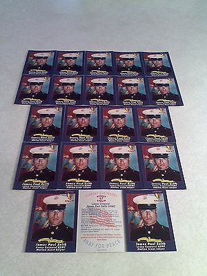 *****James Paul Seith*****  Lot of 21 cards