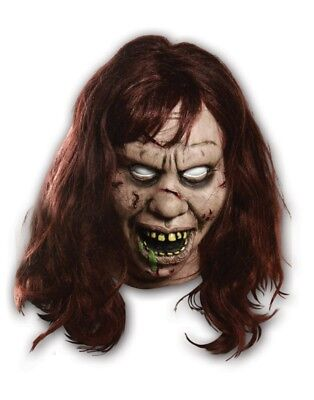Officially Licensed The Exorcist Regan Satanic Costume Mask