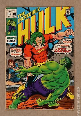 Incredible Hulk (1962-1999 1st Series) #141 GD+ 2.5