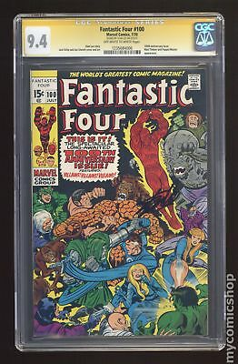 Fantastic Four (1961 1st Series) #100 CGC 9.4 SS 1235684006