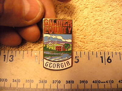Gilmer County Georgia, Hat / Lapel Pin
