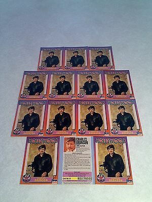 *****Charles Bronson*****  Lot of 14 cards / Hollywood Walk of Fame