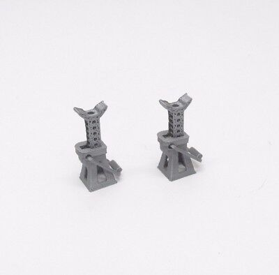 CAR JACK STANDS - PAIR in 1:18 Scale