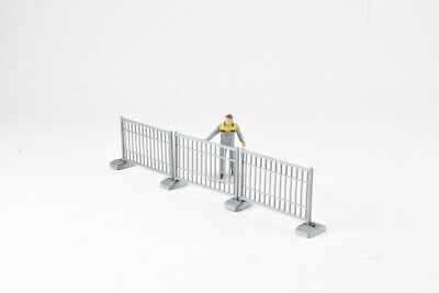 TEMPORARY PEDESTRIAN SAFETY FENCING in 1:50 Scale