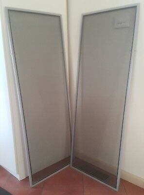 Pair of Fly screens Flyscreens 1300 x 500 Aluminium great cond pickup Mitcham