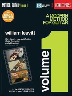 A Modern Method for Guitar - Volume 1: Book with More Than 14 Hours of Berklee V