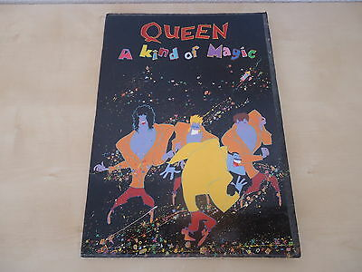 Queen - A Kind Of Magic Tour Programme