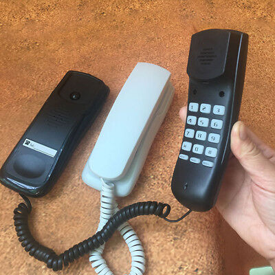 Wall Fixed Landline Telephone Hotel Desk Small Household Extension Phone Office