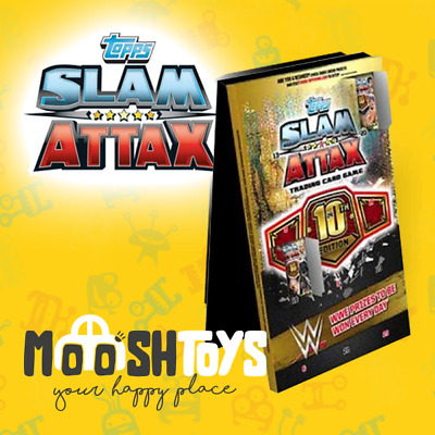 Topps WWE Slam Attax 10th Edition Advent Calendar - IN STOCK