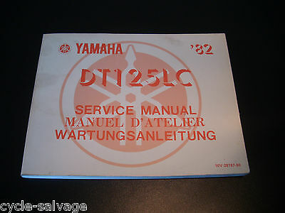 yamaha dt 125 service manual