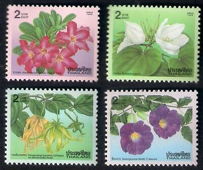 1995   ***   Thailand   ***   New Year - Flowers   ***   Sw.1723 - 1726   ** Mnh