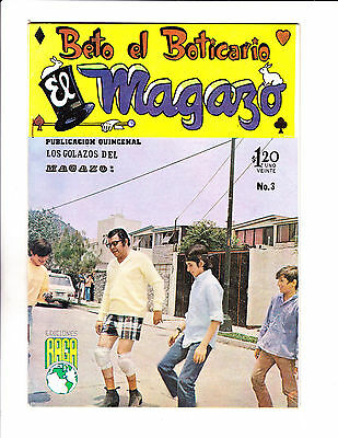 "Beto El Boticario No 3 -1970 -Spanish- ""Soccer Playing Pharmacist Cover !   """