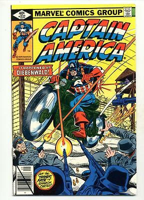 Captain America #237    It Happened at Diebenwald