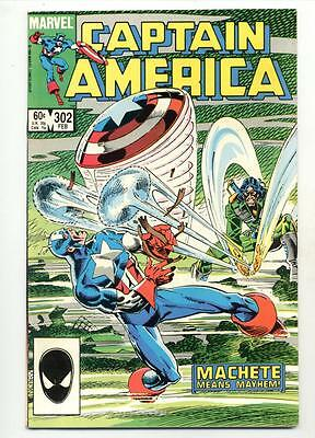 Captain America #302    Machete Means Mayhem