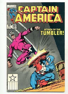 Captain America #291    Attack of the Tumbler